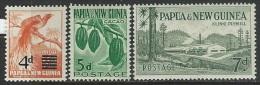 Papua  New Guinea  1957-60  Sc#137, 141-2  MLH*  2016 Scott Value $13.35 - Papua New Guinea