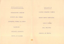 "04076 ""SPUMANTI GANCIA - MENU DECORATO - 6 AGOSTO 1930 VIII"" ORIGINALE - Menu"