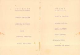 "04077 ""SPUMANTI GANCIA - MENU DECORATO - 8 AGOSTO 1930 VIII - LOSI"" ORIGINALE - Menu"