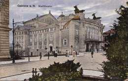 GABLONZ A.N. (Böhmen) - Stadtheater, Gel.1921? - Böhmen Und Mähren