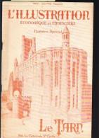Département Du Tarn En 1923  - Ressources, Agriculture, Industries, Commerce, Nombreuses  Illustrations - Livres, BD, Revues