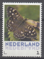 Nederland - Uitgiftedatum 6 Maart 2015 – Vlinders/Butterflies – Bont Zandoogje - Pararge Aegeria - MNH/postfr - Vlinders