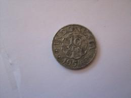 ---1 Piece 10 Sen 1954  Indonesie--TB++---- - Indonesia