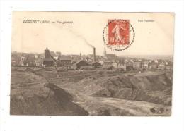 CPA  03 BEZENET Vue Générale - Maisons - Usines - Mines  1912 - France