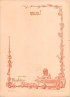 "04084 ""ET POUR BEBE: PHOSPHATINE FALIERES - EVE LE PARADIS - MENU DECORATO CON POESIA"" ORIGINALE - Menu"
