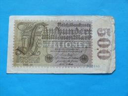 500 MILLIONEN MARK   1923 - [ 3] 1918-1933: Weimarrepubliek
