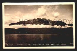 CHILE TARJETA POSTAL LAGO TODOS LOS  SANTOS REAL PHOTO RPPC Vintage Original Ca1940 POSTCARD CPA AK (W4_2596) - Chile