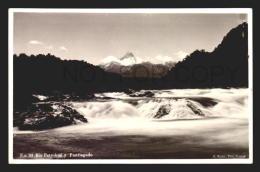 CHILE TARJETA POSTAL PETOHUE PUNTIAGUDO REAL PHOTO RPPC Vintage Original Ca1930 POSTCARD CPA AK (W4_2599) - Chile
