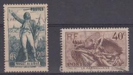 Francia 1936 Nº314/15 - Francia
