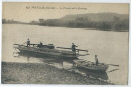 Preignac Le Passeur Sur La Garonne - Francia