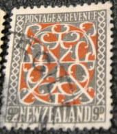 New Zealand 1935 Maori Art 9d - Used - Usados