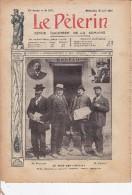 """LE PELERIN 30 Juin 1907 Au Pays Des """"Gueux"""" , Les Narbonnais Acclament M Ferroul - 1900 - 1949"""