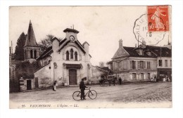 92 Vaucresson Eglise Velo Cycliste Attelage - Vaucresson