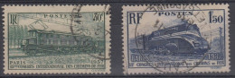Francia 1937 Nº339/40 Usado - Francia