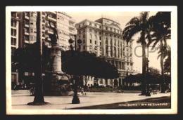 RIO DE JANEIRO HOTEL GLORIA BRASIL BRAZIL CARTAO POSTAL Vintage Original Ca1940 POSTCARD CPA AK (W4_2602) - Rio De Janeiro