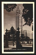 RIO DE JANEIRO STATION ART DECO ARCHITECTURE BRAZIL CARTAO POSTAL Vintage Original Ca1940 POSTCARD CPA AK (W4_2603) - Rio De Janeiro