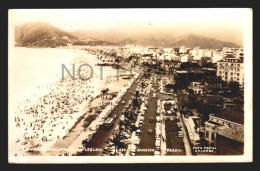 RIO DE JANEIRO IPANEMA LEBLON BRAZIL CARTAO POSTAL Vintage Original Ca1940 POSTCARD CPA AK (W4_2605) - Rio De Janeiro