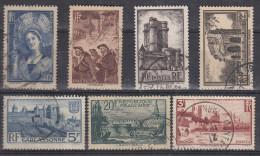 Francia 1938 Nº388/94 Usado - Francia