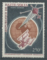 Upper Volta (Burkina Faso), Ouagadougou, Space Station, 1966, MNH VF Airmail - Burkina Faso (1984-...)