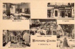 GENOVA - Ristorante Cinotto - Vedutine - - Genova (Genoa)
