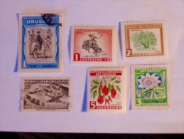 URUGUAY  1952-54   LOT# 6 - Uruguay