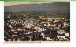 CPA-01-1920-BELLEGARDE-VIADUC ET VUE GENERALE-MALFROY- - Bellegarde-sur-Valserine