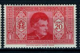 1932 - ITALIA / REGNO - ITALY - Catg. Unif. 305 - LH - (T23032016) - 1900-44 Victor Emmanuel III