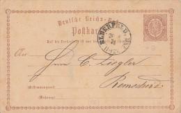 DR Ganzsache K2 Elberfeld. Bhf 28.8.74 - Deutschland