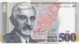 Central  Bank Of The Républic Of ARMENIA  1999 - Arménie
