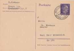 Ukraine Ganzsache Minr.P2 Brest-Litowsk 15.5.44 Gelaufen Nach Verl - Besetzungen 1938-45