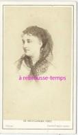 CDV De Reutlinger-artiste-comédienne- Melle MASSIN - Fotos