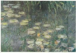 """Claude MONET (1840-1926)  """" Les Nymphéas"""", Détail, Salle 1, Mur Sud - Malerei & Gemälde"""