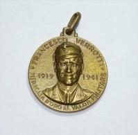 """FRANCESCO VERROTTI - Medaglia D""""Oro Al Valor Militare - 26 MAGGIO 1974 - Professionali/Di Società"""