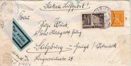 FINNLAND 1941 - 1,75 + 4 Mk Auf LP-Brief Zensuröffnung D,d, Okommando Der Wehrmacht, Roter Stempel - Finnland