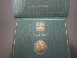 VATICANO 2010 EURO 2.00  ANNO SACERDOTALE - Vatican