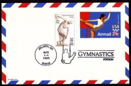 USA Atlanta 1996 Olympic Games Atlanta Gymnastics - Ete 1996: Atlanta