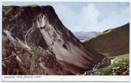 LAKE DISTRICT : HONISTER CRAG (ENLGISH LAKES) - Cumberland/ Westmorland