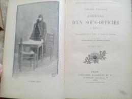 JOURNAL D'UN SOUS OFFICIER 1870 Amédée Delorme 1897 Librairie HACHETTE Illustrations VOGEL MOREL GERARDIN Charenton 1899 - Books, Magazines, Comics