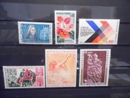 FRANCE - Année 1973 - N° 1737 à 1743 Neuf ** - France