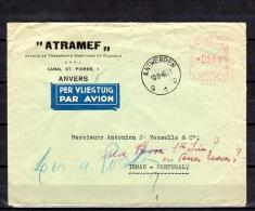 1949 ATRAMEF > IRMAO PORTUGAL RESENT & RETURNED  (B49) - Belgium