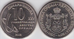 Serbia - 10 Dinara 2009 Comm. UNC Lemberg-Zp - Serbie