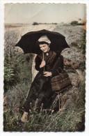 NOIRMOUTIER--Jeune Fille De Noirmoutier (coiffe,costume,panier),cpsm 14 X 9 N°6 éd Artaud - Noirmoutier