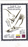 Qatar New Issue 2014, Joint Issue Qatar- Ecuador 1v.compl.set MNH-SKRILL PAYMENT ONLY - Zonder Classificatie
