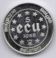 BOUDEWIJN * 5 ECU 1988 * QP * Nr 7864 - 12. Ecus