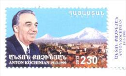 2013. Armenia, Anton Kochinian, Stteman, 1v,  Mint/** - Armenia