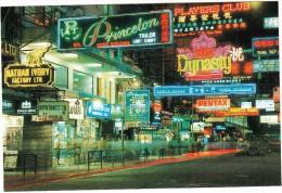 Hong Kong : Peking Road - Neon Lights - China (Hongkong)