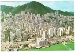 Hong Kong : Birds Eye View Of Hong Kong's Central District - China (Hongkong)