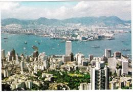 Hong Kong & Kowloon From The Peak - China (Hongkong)