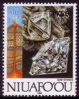 Niuafoou 1993 Proof - Diamond - Details In Item Description - Minerales