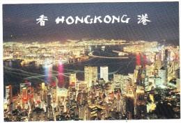 Hong Kong : Night Scene - China (Hongkong)